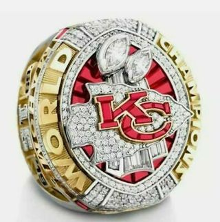 2019- 2020 Kansas City Chiefs Championship Ring Fan Gift !!