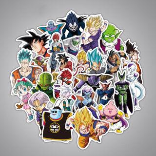 36PCs Japan Anime Dragon Ball Z Stickers
