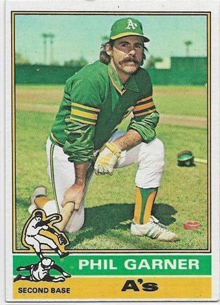 1976 TOPPS PHIL GARNER CARD