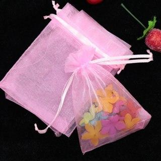 Brand New Pink Organza Bag