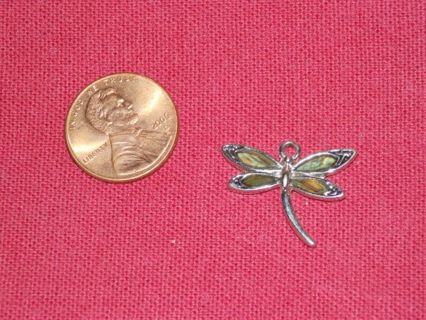 Small dragonfly charm