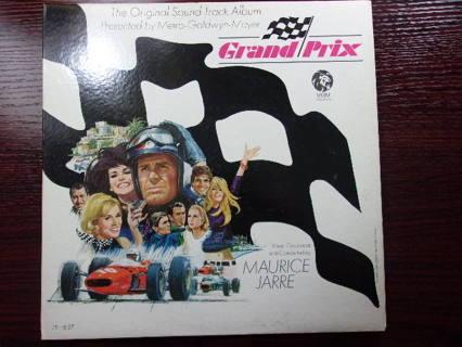 Grand Prix Soundtrack Maurice Jarre MGM 1E 8ST, LP Exc