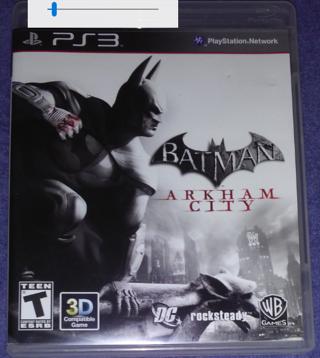 Batman Arkham City -PS3-No Scratches-Includes add-on-download Codes-Unverified
