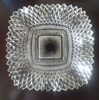 Antique Glass Candy Dish