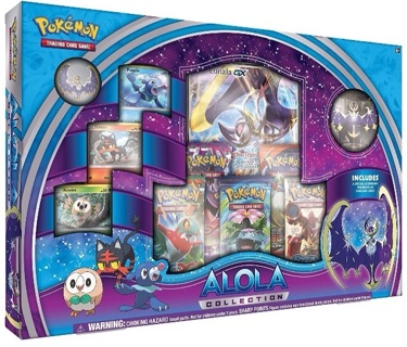 Pokemon TCG Alola Collection Box! New Release! Factory Sealed! Be a first to have a GX card!!