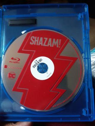 DC COMICS SHAZAM MOVIE BLU-RAY DISC ONLY