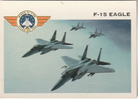 Vintage Collector Card: Wings of Fire: F-15 Eagle