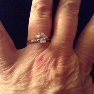 Diamonque ring