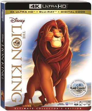 Disney The Lion King Full Movie Digital HD Download Code Movies Anywhere