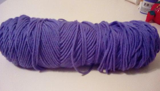 Yarn - 2 shades of purple