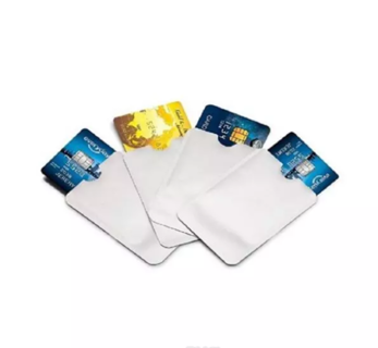 RFID Blocking Sleeves Travel Set for Security of Credit/Debit Cards