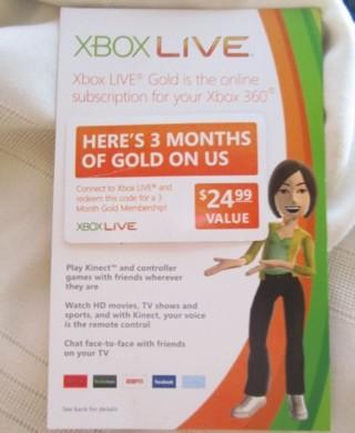Xbox live coupon code