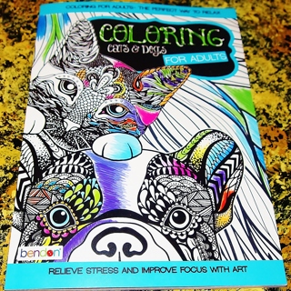 Free: Coloring Cats and Dogs by Bendon - Other Health & Beauty Items ...