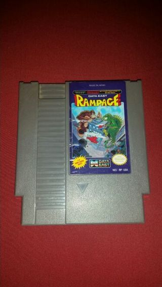 NES *Rampage* Game
