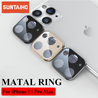 Suntaiho Camera Lens Protector for iPhone 11 Pro Metal Protection Ring For iPhone 11 iPhone 11 Pro