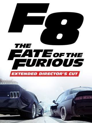 """The Fate of the Furious 8"" HDX - Vudu/movies anywhere Digital Movie Code"