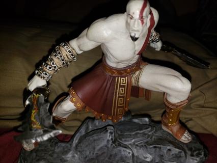 "GOD of WAR Ascension Exclusive 6"" Kratos Statue"