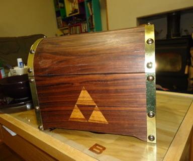 ✩. ✩. ✩. ✩. ✩. DIY: Zelda Treasure Chest