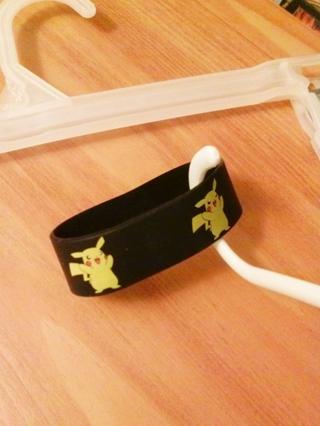 1 Pokemon Pikachu Wrist Band bracelet wristband POKEMON JEWELRY pocket monster anime