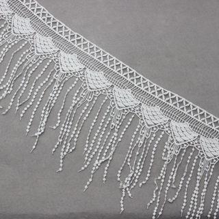 2 Yards Lace Edge Trim Ribbon for Wedding Bridal Dress Applique DIY Sewing Craft