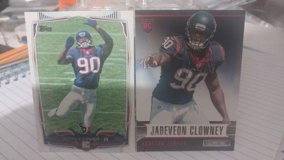2014 Jadeveon Clowney rookie cards Seattle Seahawks