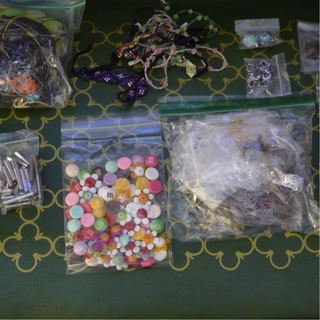 Large Lot of Jewelry Making & Crafting Supplies
