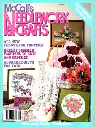 McCALL'S NEEDLEWORK & CRAFTS Magazine - Jun 1988