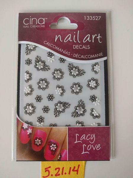 Free Cina Nail Art Decals In Lacy Love 5 21 14 Nails Listia Com Auctions For Free Stuff