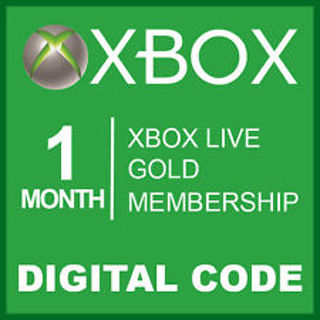 Free: Xbox Live Gold 1 Month Code - Get it Now 9999