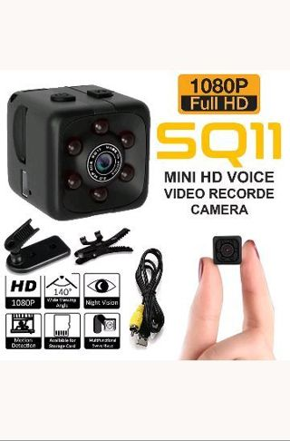 Spy hidden camera 1080p night vision