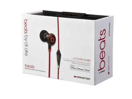 NEW! Authentic iBeats by Dr Dre Beats Monster In Ear W Control Talk Mic COLOR CHOICE!