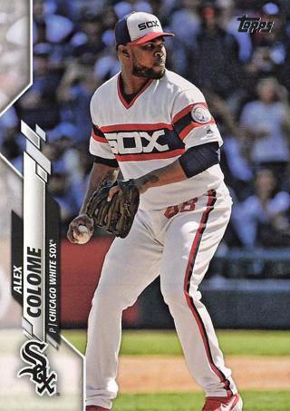2020 Topps #93 Alex Colome Chicago White Sox