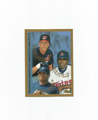 Free David Ortiz Rc 1997 Topps Prospects Baseball Rookie Card W
