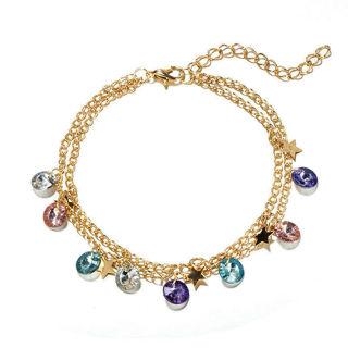 Fashion Lady Chain Bracelet Foot Anklet x1
