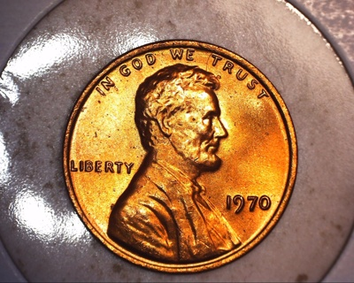 1970 tone brilliant lincoln penny