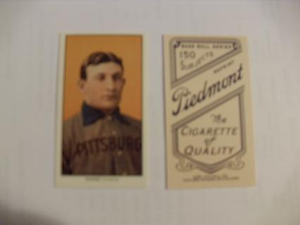 1909 T206 Honus Wagner reprint card