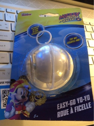 """BNIP Mickey Mouse Roadster Racer """"Easy Go Yo Yo!!"""" With Auto Return. GREAT Gift!!"""