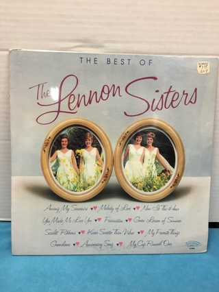 L179 THE BEST OF THE LENNON SISTERS RECORD ALBUM NEW UNOPENED