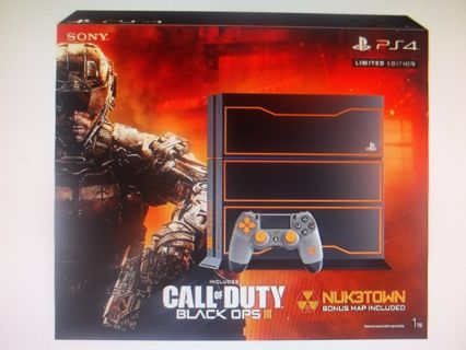 ~BRAND NEW! Special Edition Call of Duty Black Ops 3 PS4 1 TB console bundle NEW