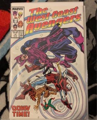 The west coast avengers #19