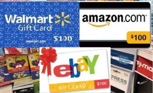 Free 100 Gift Card From Your Choice Of Amazon Ebay Or Walmart Fast Delivery Gift Cards Listia Com Auctions For Free Stuff