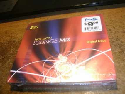 new 3 cd set!hot latin lounge mix-28 songs!-edgar abraham-humberto ramirez&more!