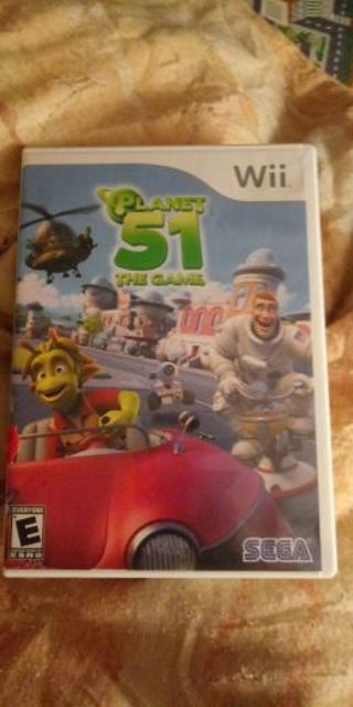 Planet 51 game nintendo wii and wii u