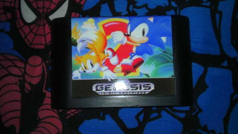 Free Sonic The Hedgehog 2 Sega Genesis Custom Label Other Video Games Listia Com Auctions For Free Stuff