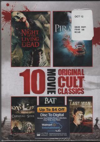 10 Movie Original Cult Classics-New