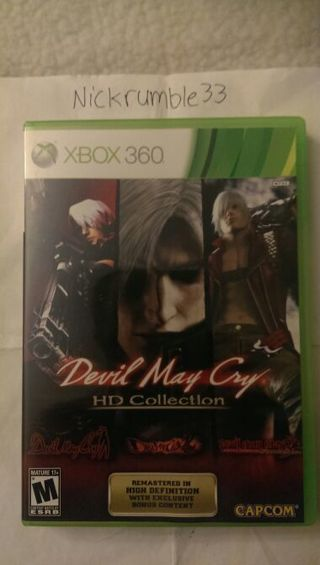 Xbox 360 Game - Devil May Cry: HD Collection! with GIN(Get it Now) option!