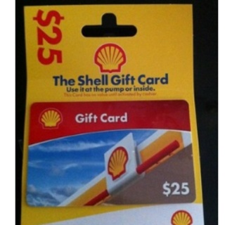 free gift card to shell gas station gift cards auctions for free stuff. Black Bedroom Furniture Sets. Home Design Ideas