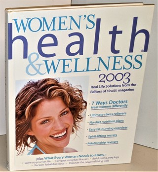 """2003 """"Women's Health & Wellness"""" - hardcover - 400 pages - 2 lbs. 3 oz."""