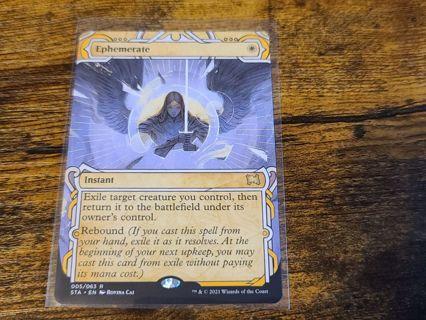 Magic the gathering mtg Ephemerate strixhaven rare card