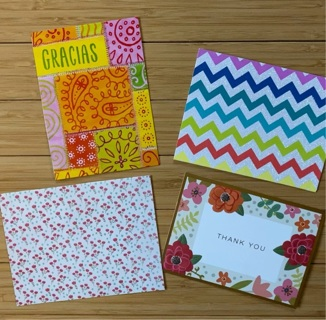 Four Thank-You Card (Tops Only)